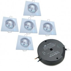 Square Downlight Kit